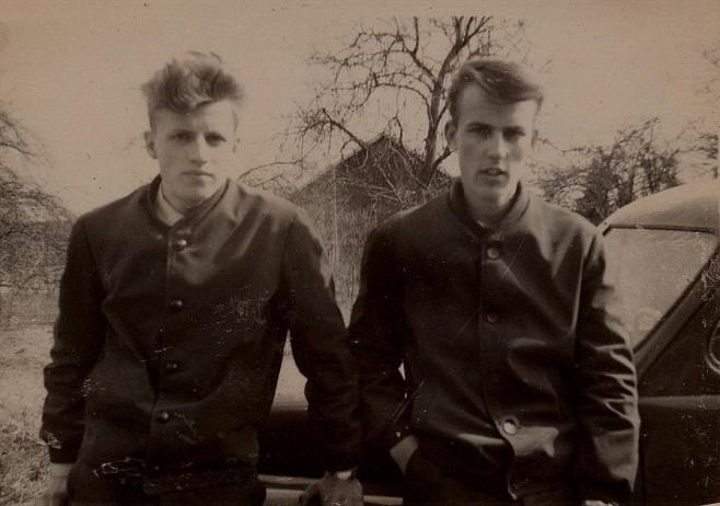 Här Bore Holmberg tillsammans med Ralf Storkull.