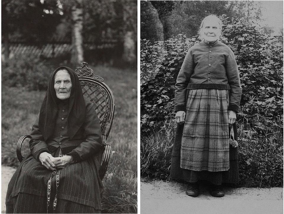 "På bilden Anna ""Anagret"" alltså Greta Storkull, hon som var gift med Koll-Josip."