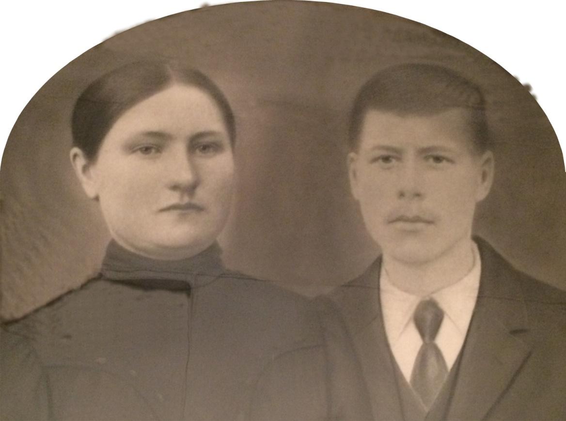 Här på fotot Ida Strömberg tillsammans med sin man Josef Strömberg d.y.