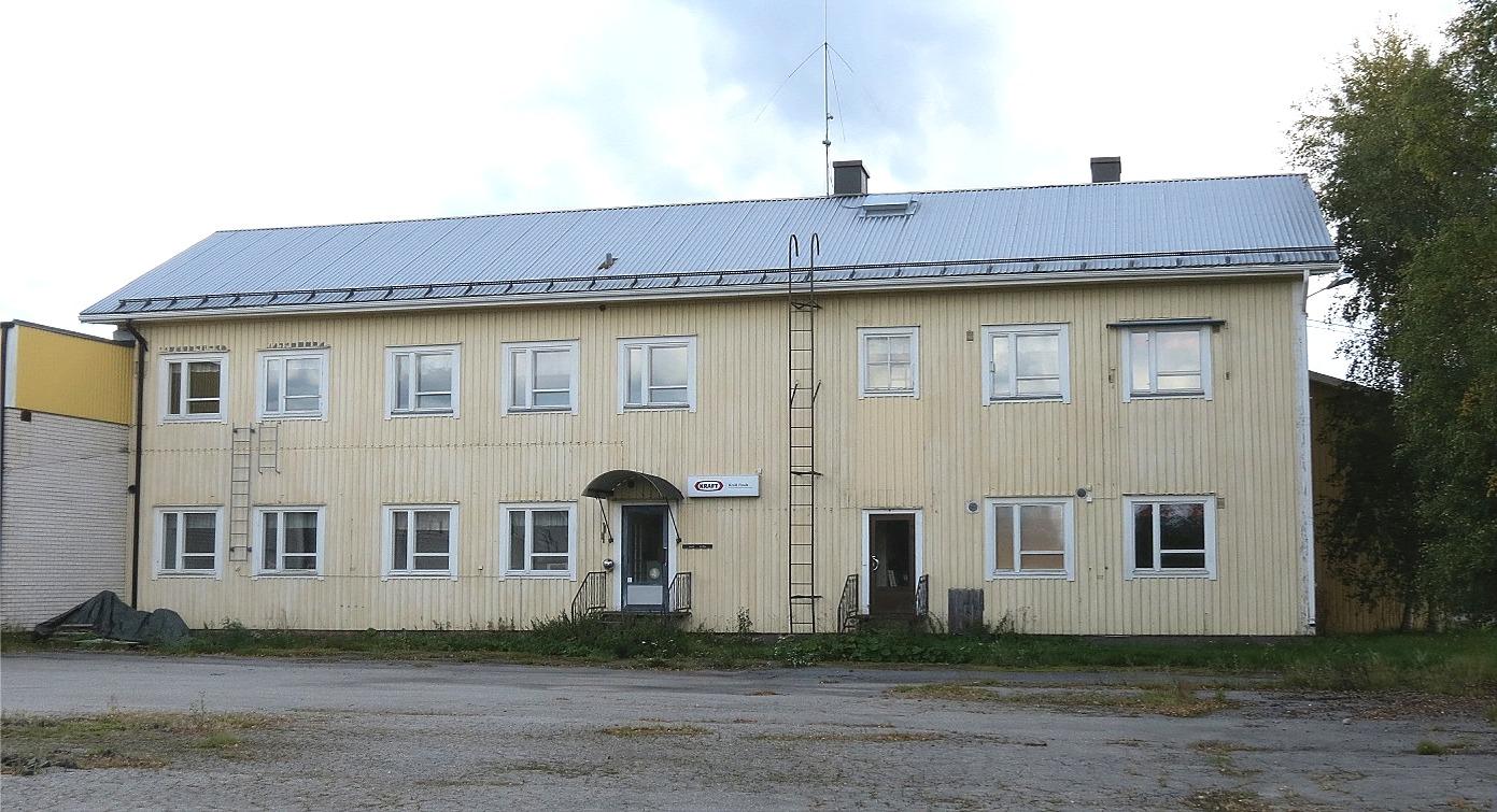 Så här ser den gamla finska folkskolan ut 2013 efter att Estrella lade ner verksamheten något år innan.