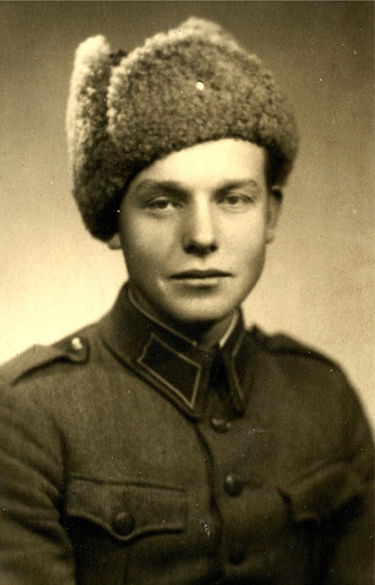 Här soldat Nils Klemets.
