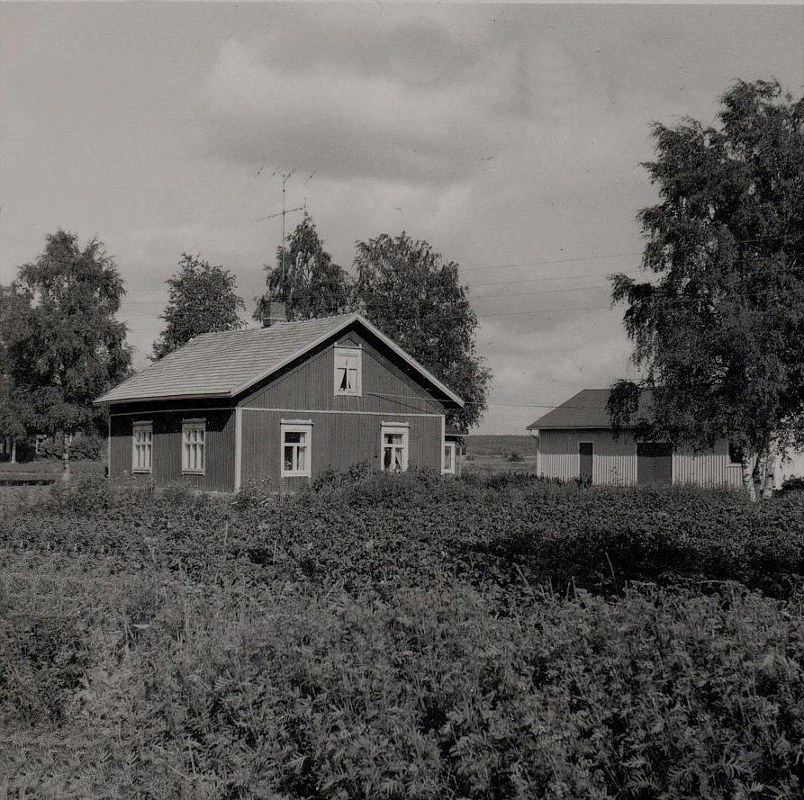 Rosengård Erik Anders gård på Brobackan som revs i början på 70-talet.