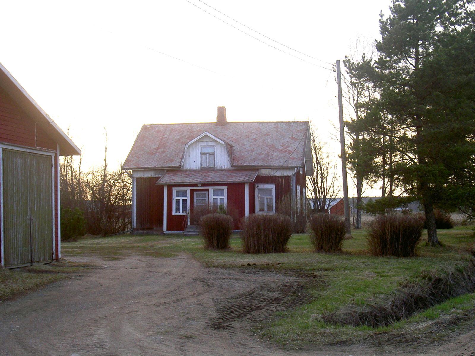Nyholms hus fotograferat 2003.