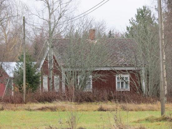 Nyholm hus fotograferat från Dagsmarkhållet.