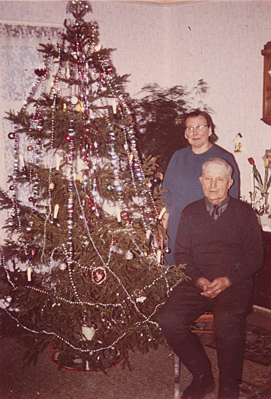 Hulda och Emil Nyholm någon gång på 60-talet.