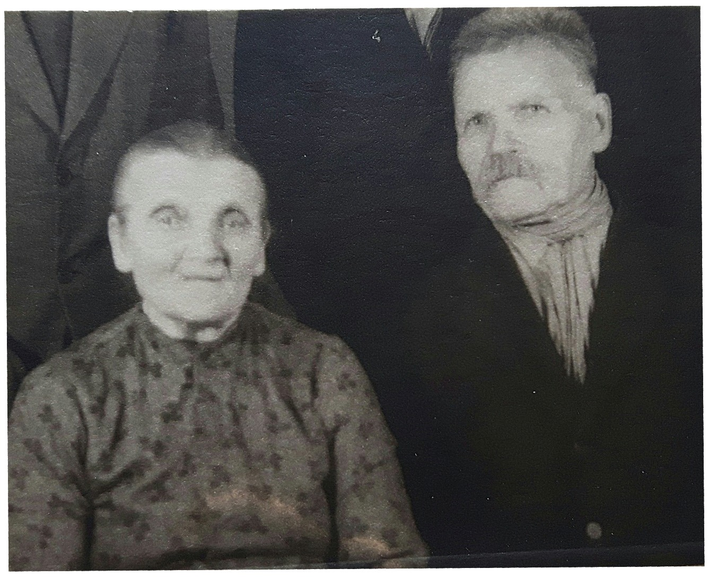 Här Vilhelmina och Oskar Myllyniemi.