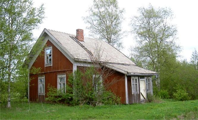 Westerbacks gård fotograferad hösten 2003.
