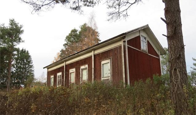 Huset fotograferat från söder år 2013.