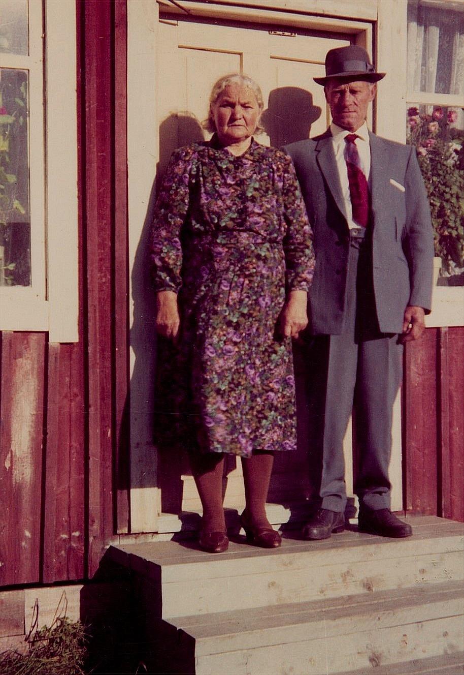 Hilma och Karl Henrik.