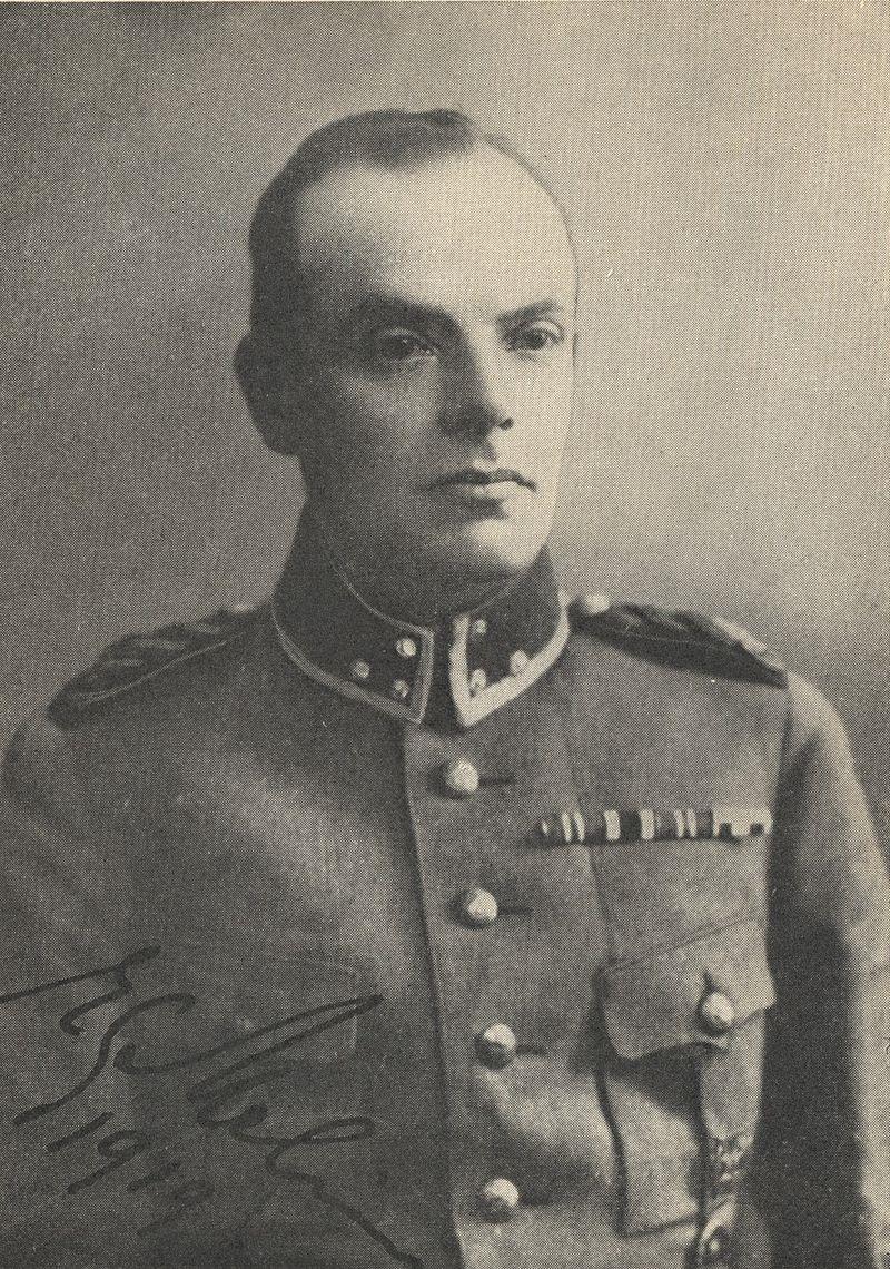Gunnar Melin som ledde den svenska gruppen med sydösterbottningar till Näsilinna och tillbaka, var född i Vasa och hade fått jägarutbildning i Tyskland.
