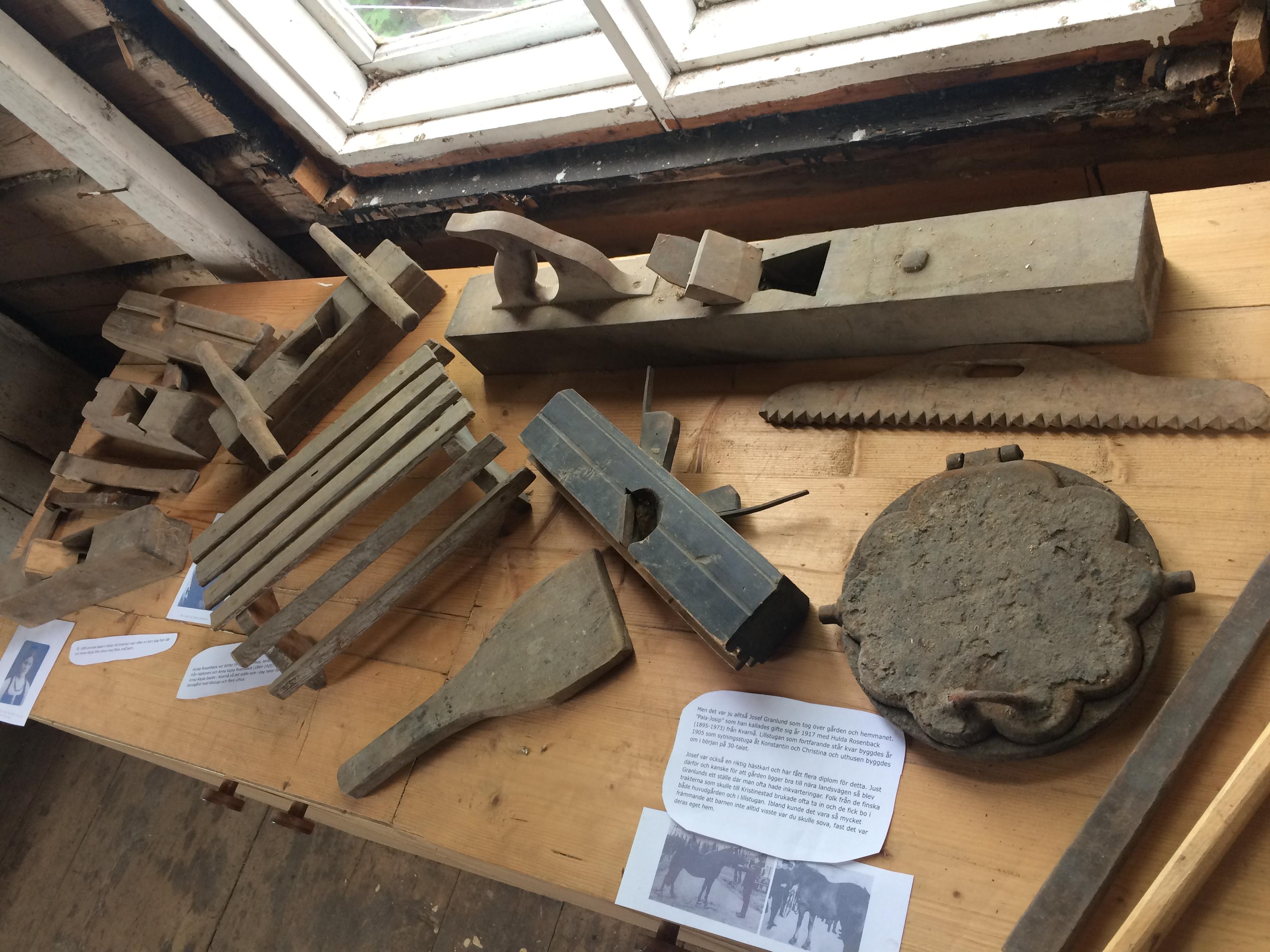 De gamla föremålen är så välgjorda att de skulle fungera bra ännu i dag.