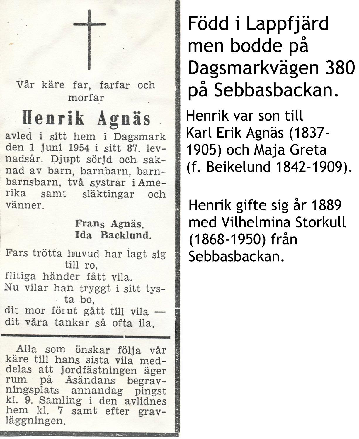 Agnäs Henrik