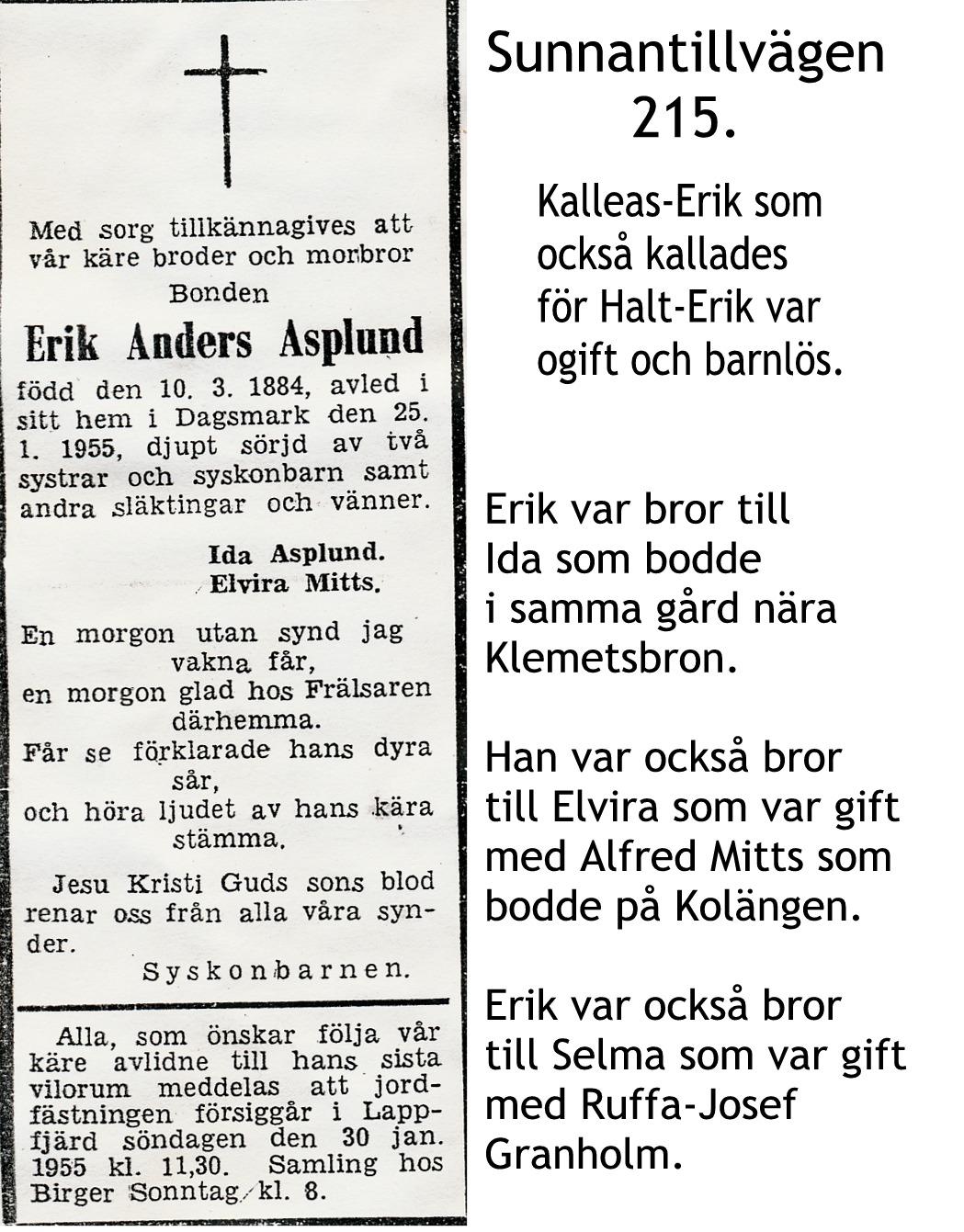 Asplund Erik Anders
