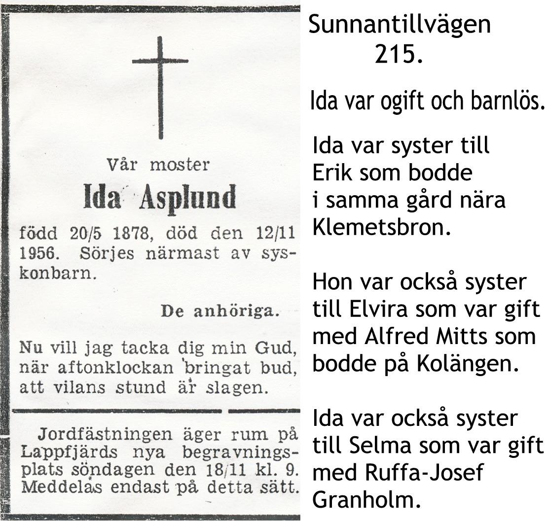 Asplund Ida