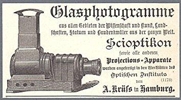 En scioptikon är en projektor med vilken man kan visa ljusbilder på en bildskärm.