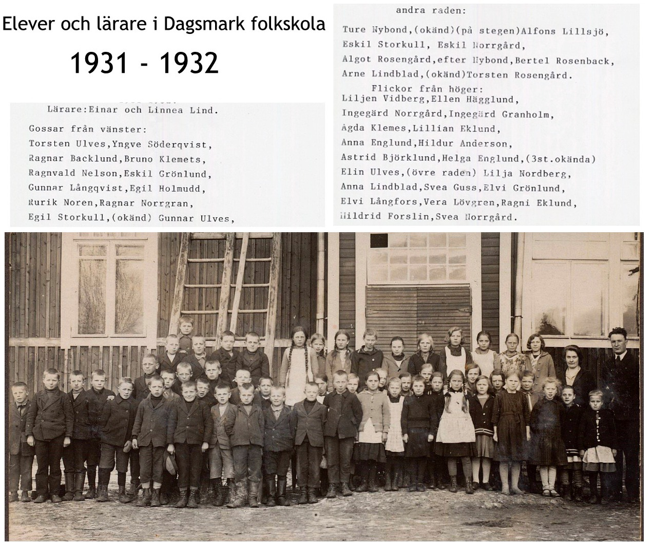 1930-31 storskolan med namn