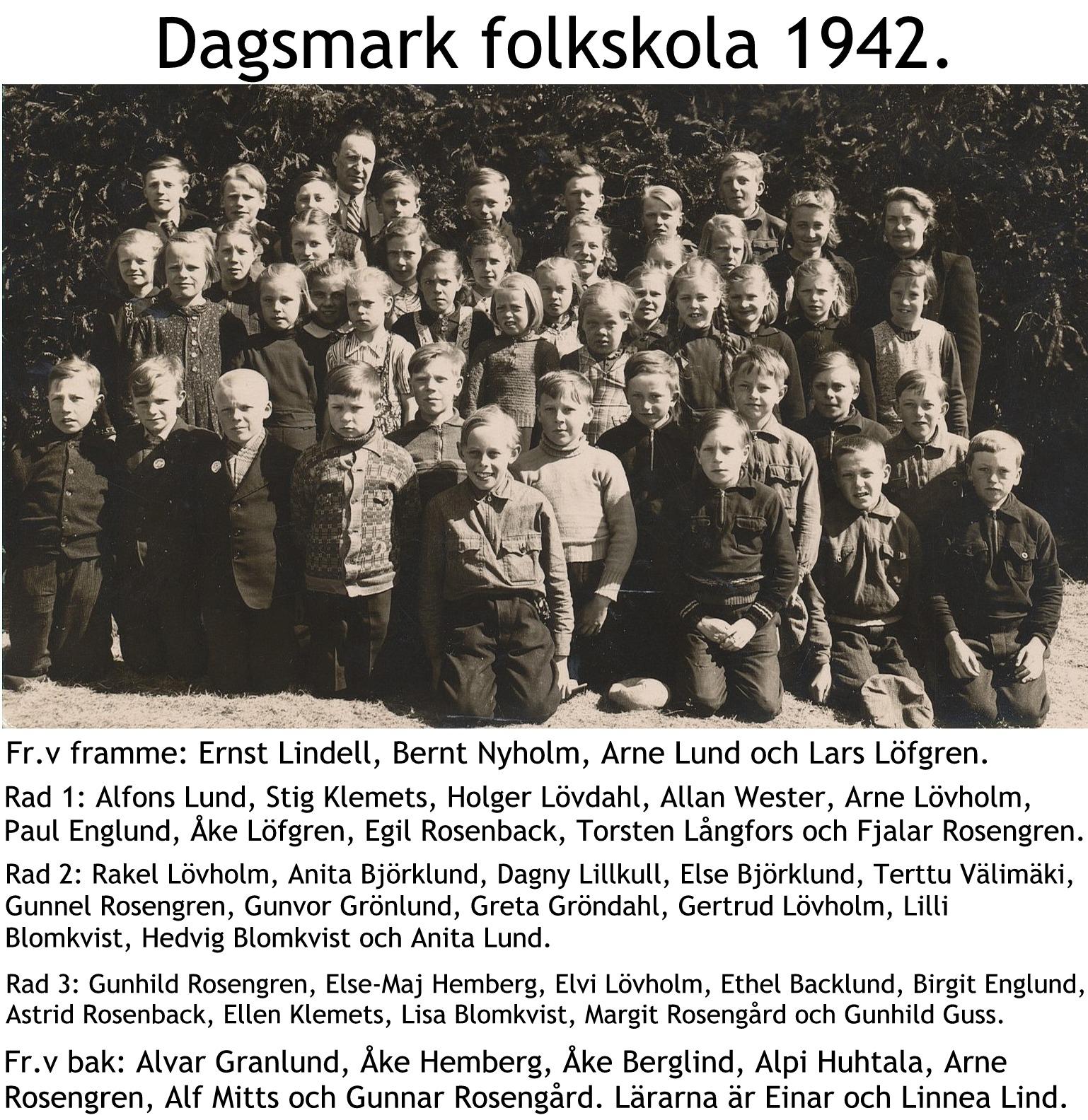 1942 Skolfoto