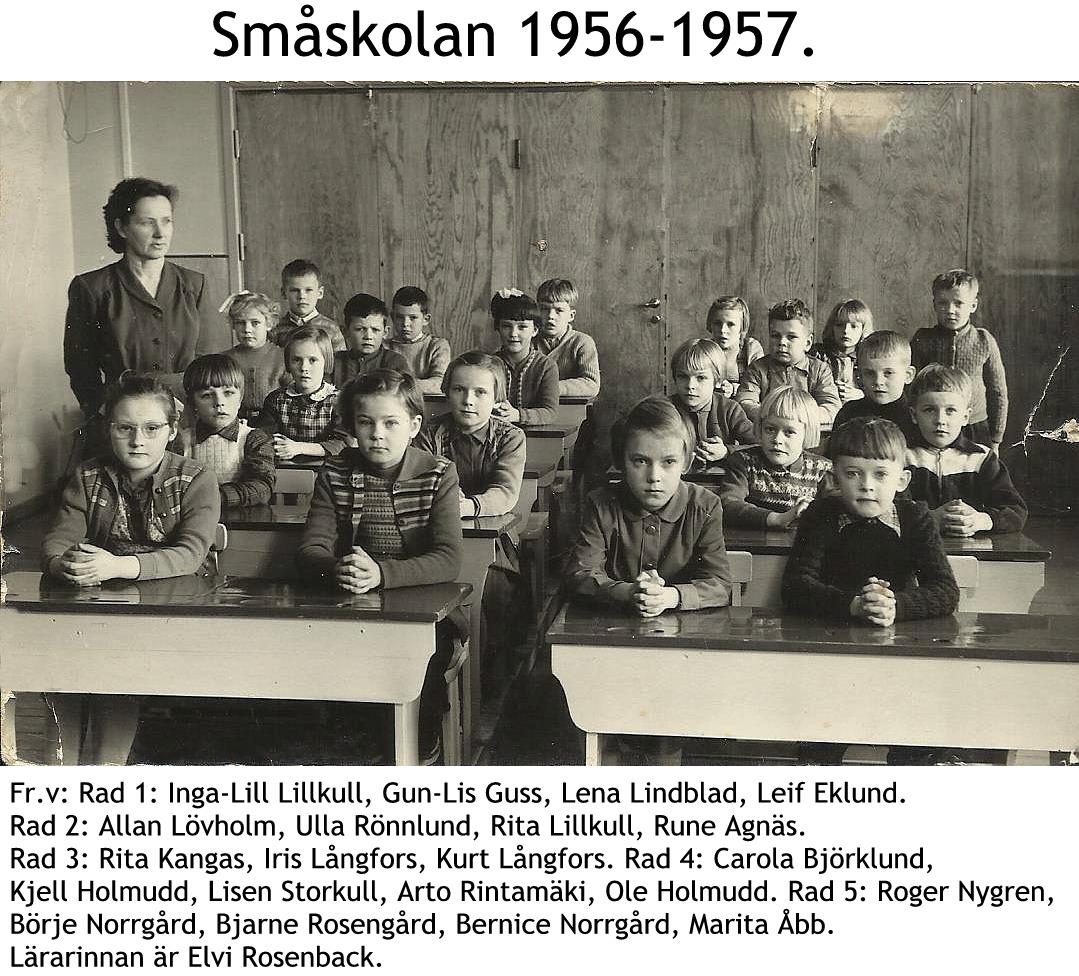 1956 Småskolan