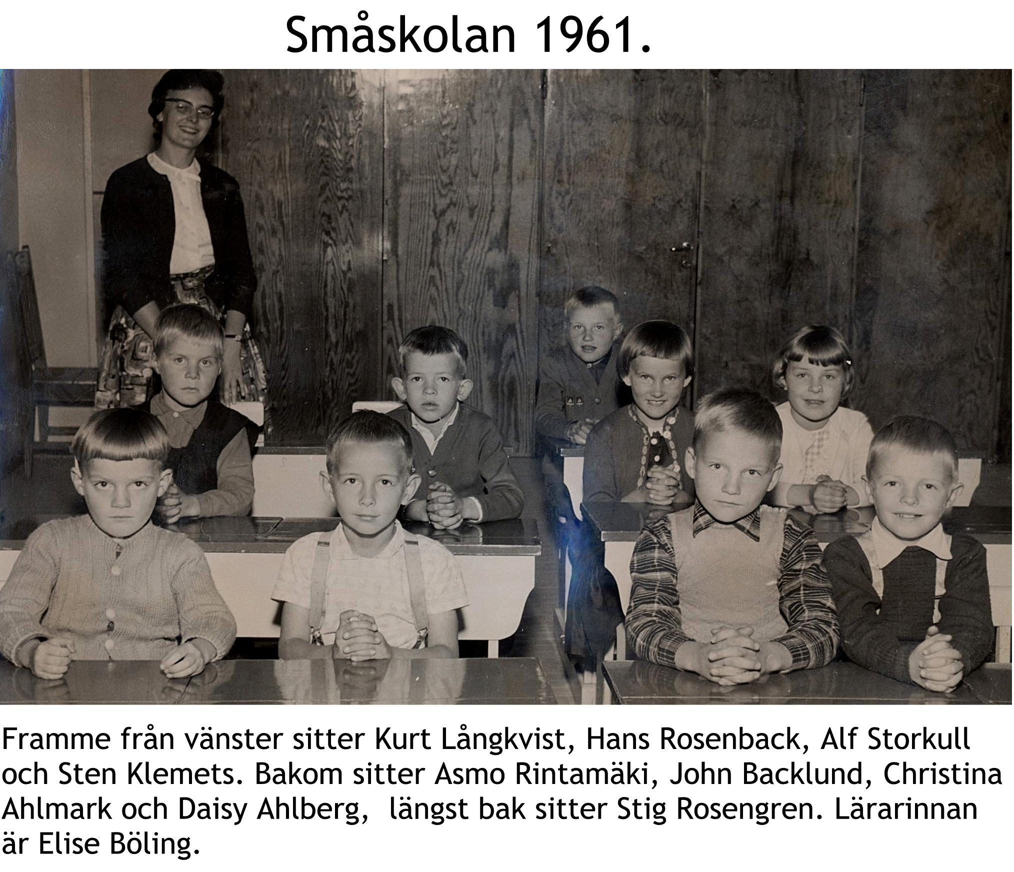 1961 Småskolan 1961