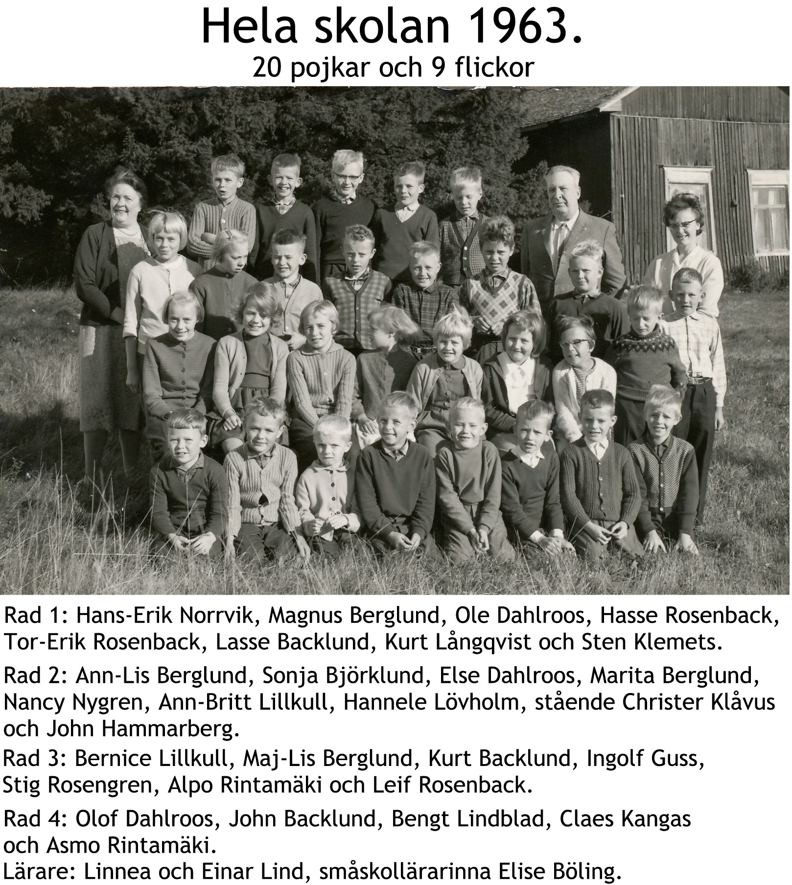 1963 Skolfoto