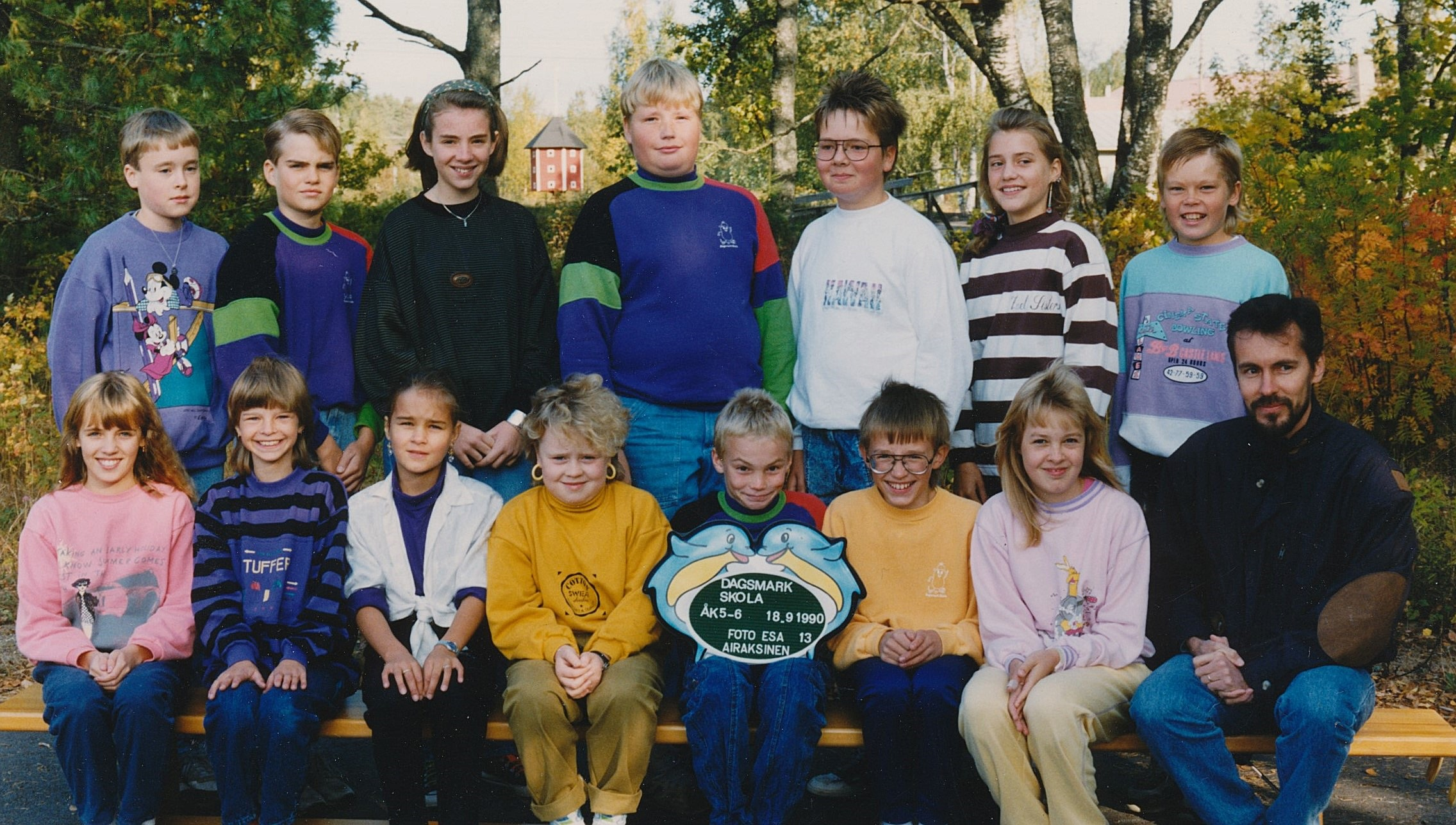 År 1990, årskurser 5-6.