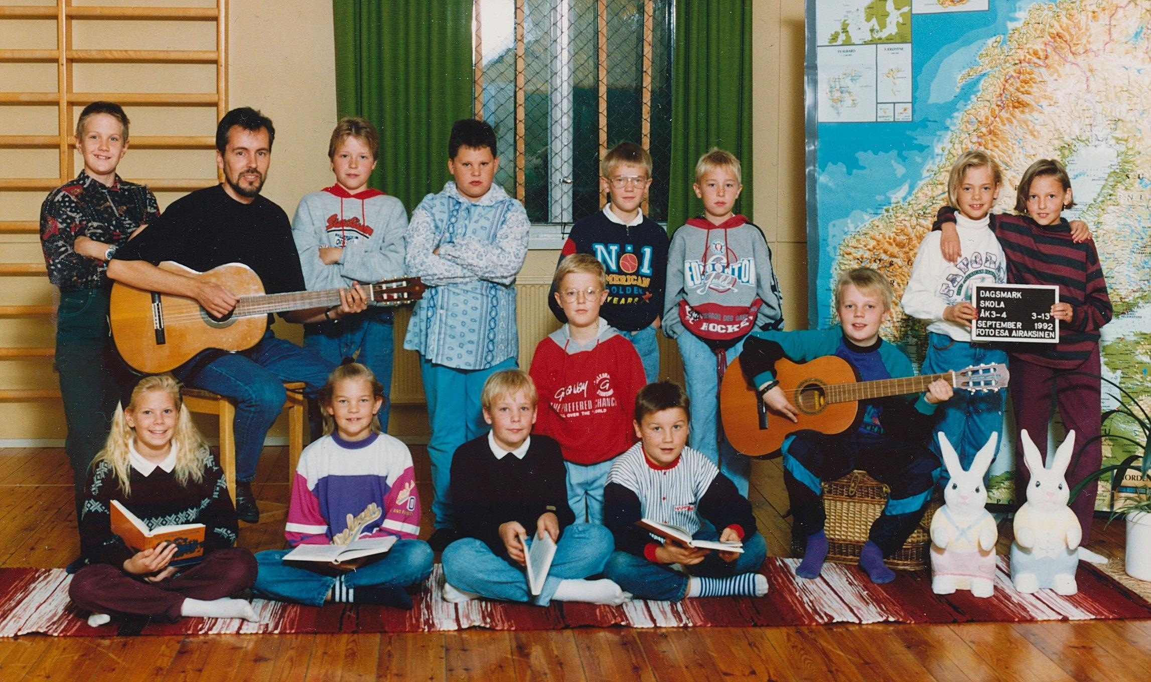1992 Dagsmark skola 3-4