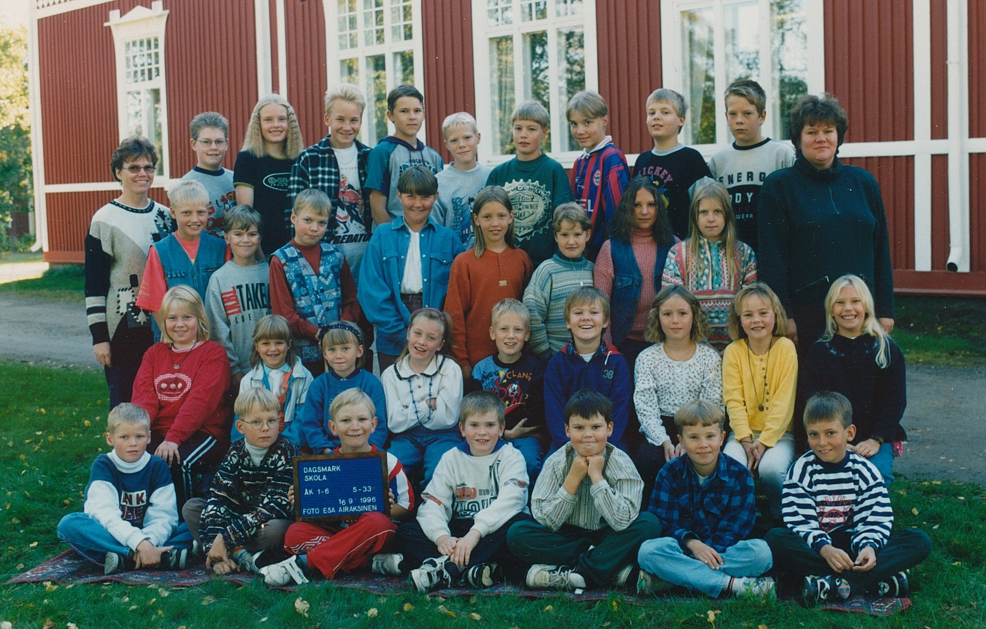År 1996, Dagsmark skola.