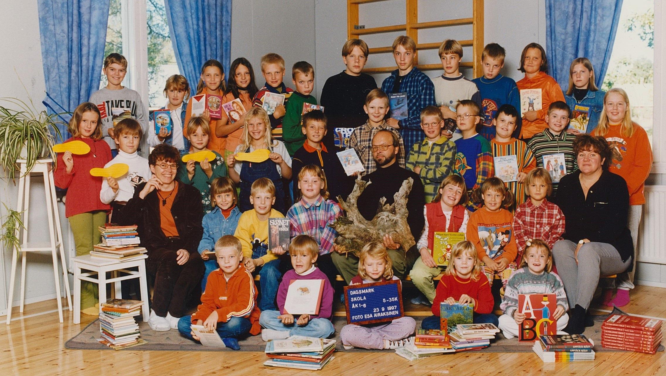 År 1997, Dagsmark skola.