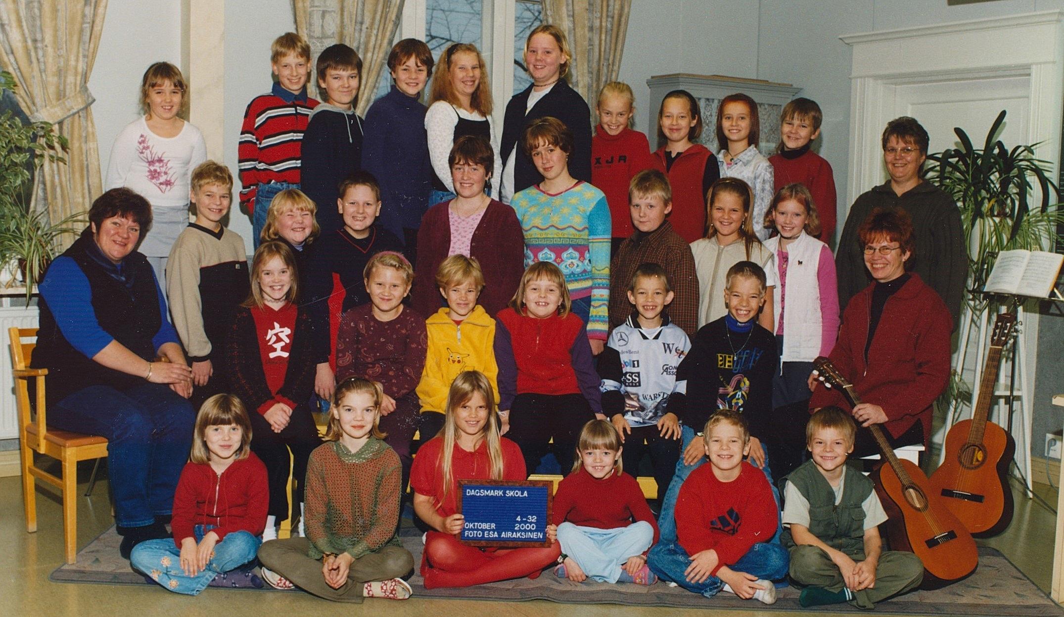 År 2000, Dagsmark skola.