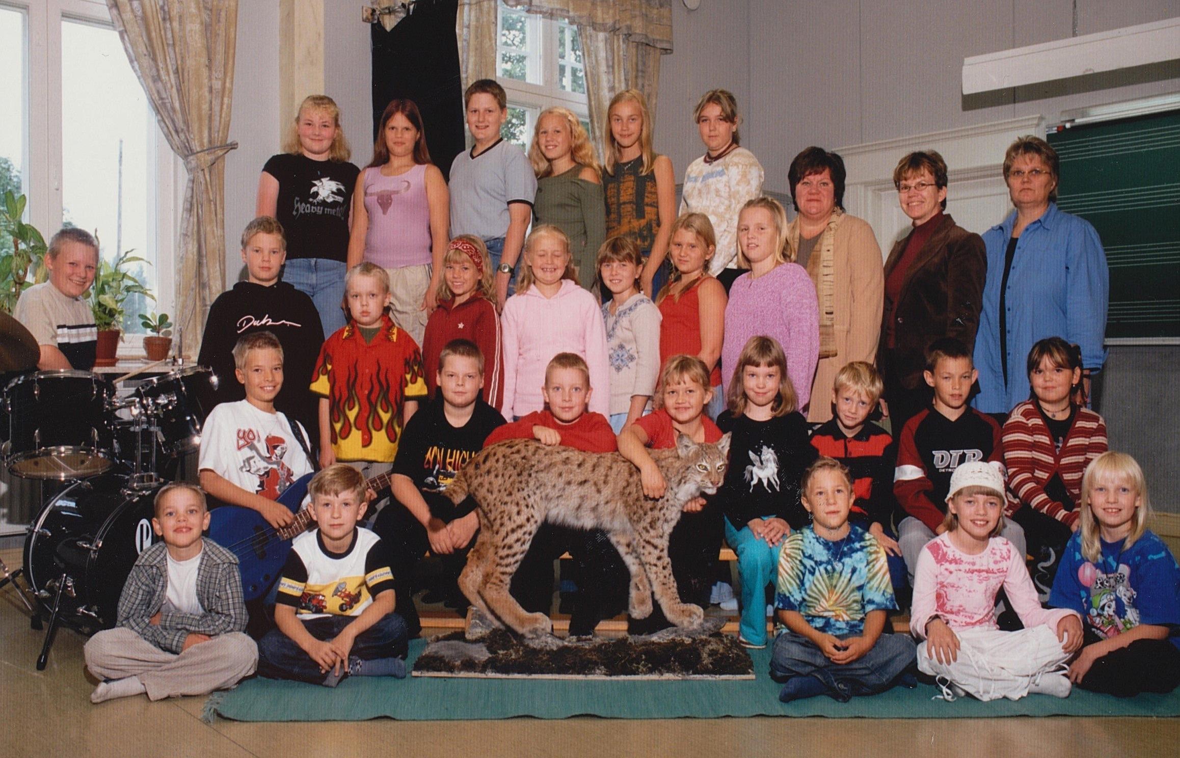 År 2003, Dagsmark skola.