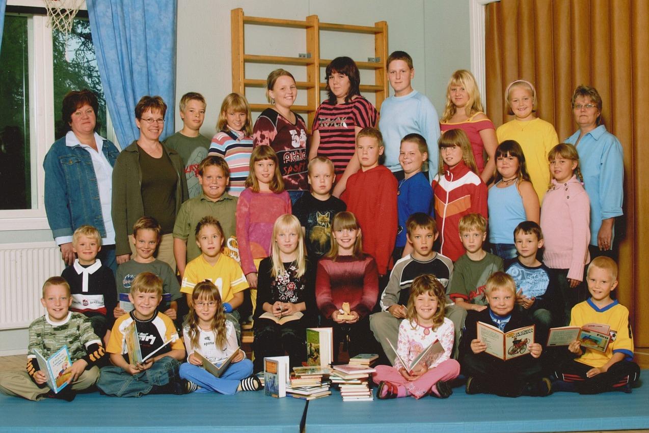 År 2004, Dagsmark skola.