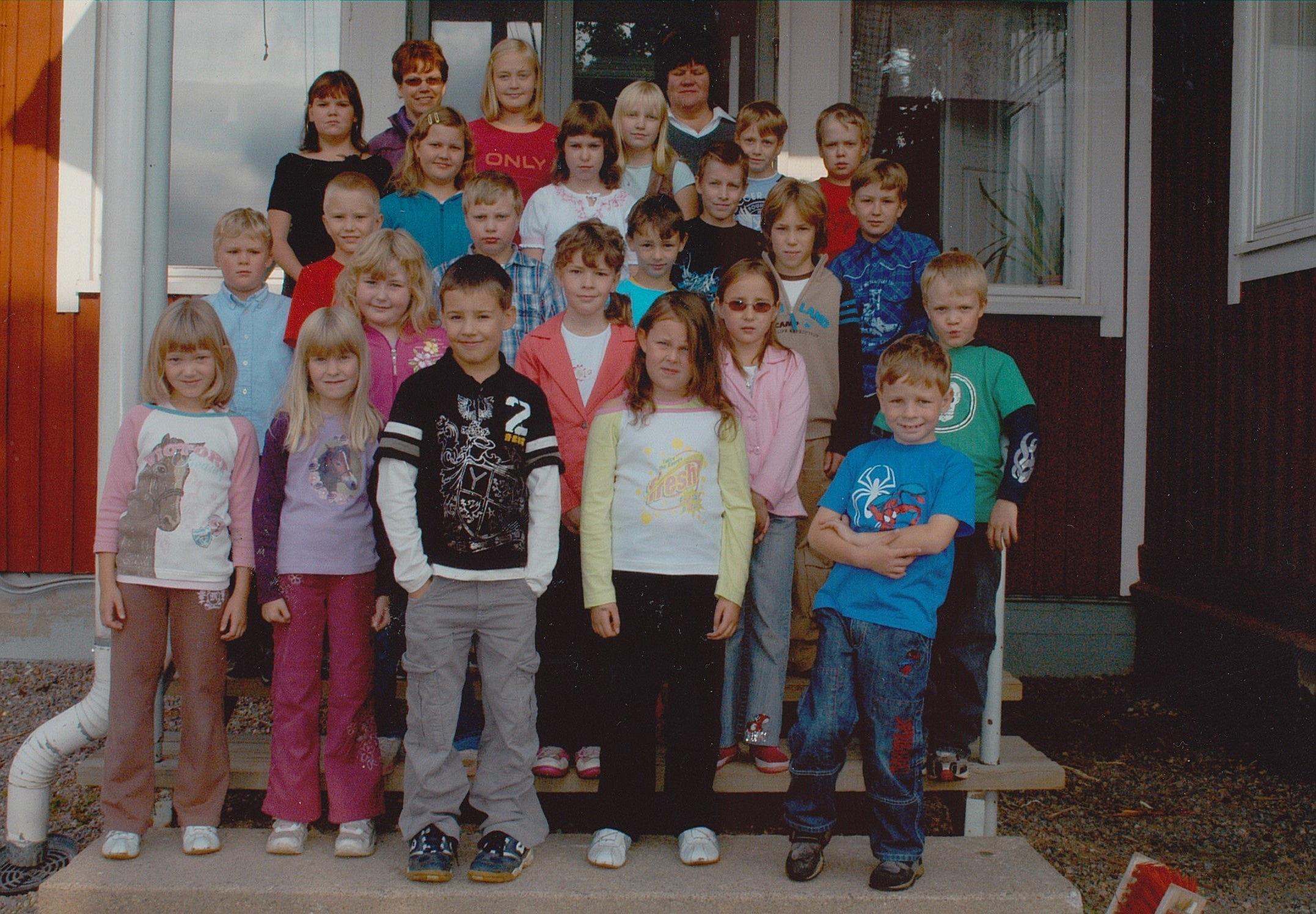 År 2006, Dagsmark skola.