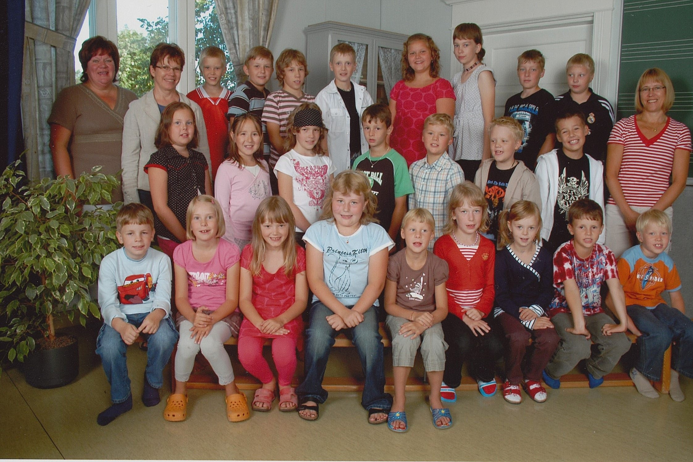 År 2007, Dagsmark skola.