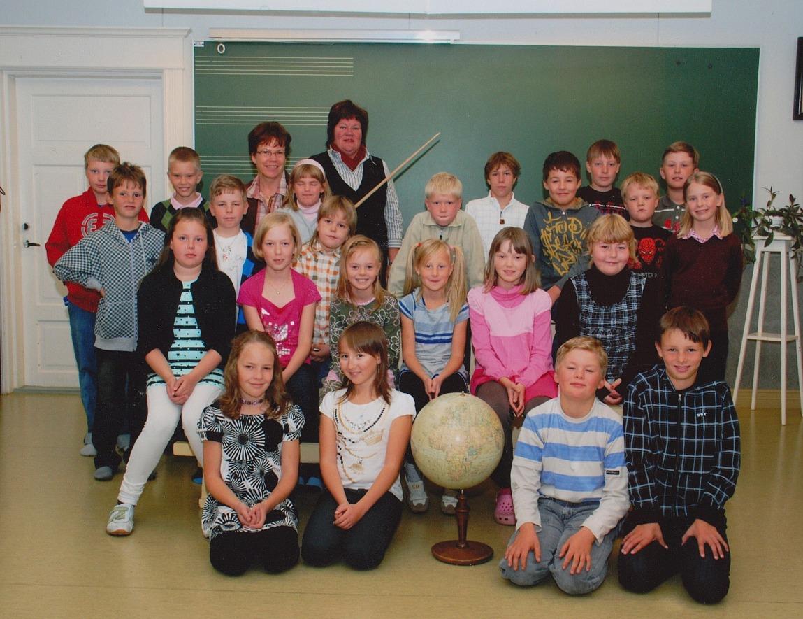 År 2008, Dagsmark skola.