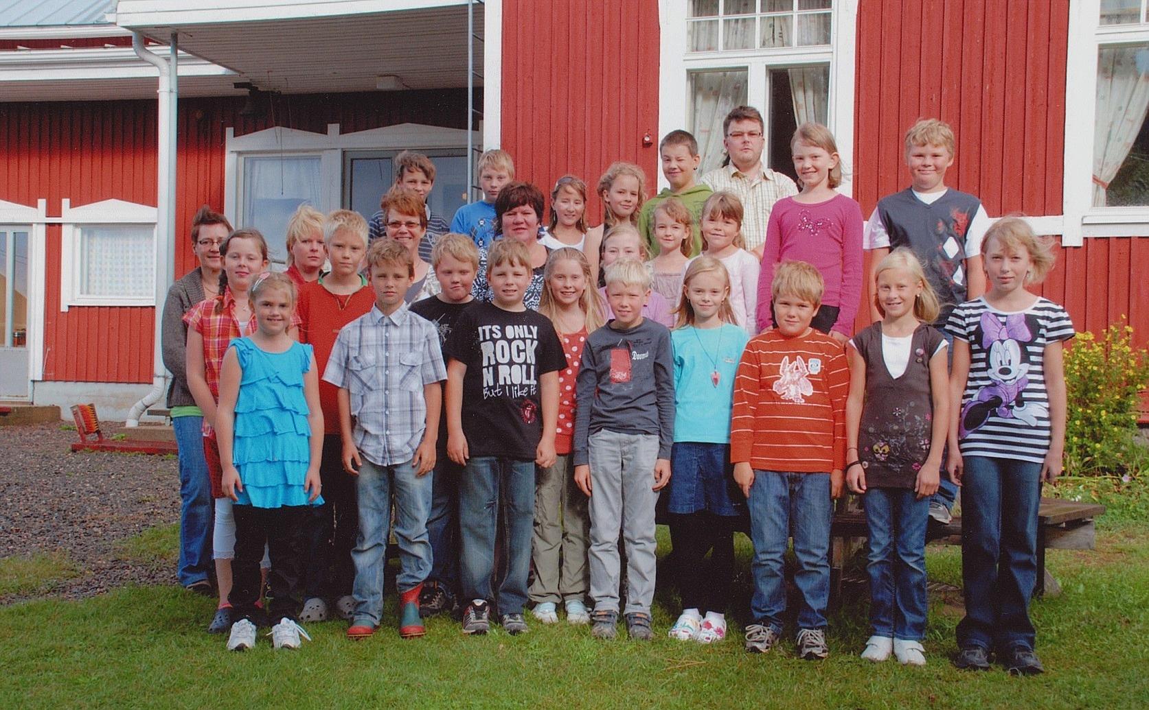 År 2009, Dagsmark skola.
