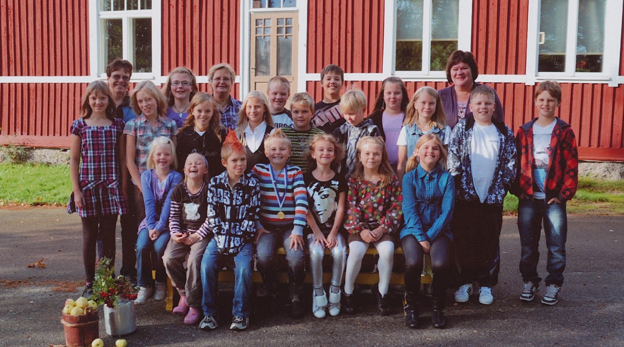 År 2010, Dagsmark skola.