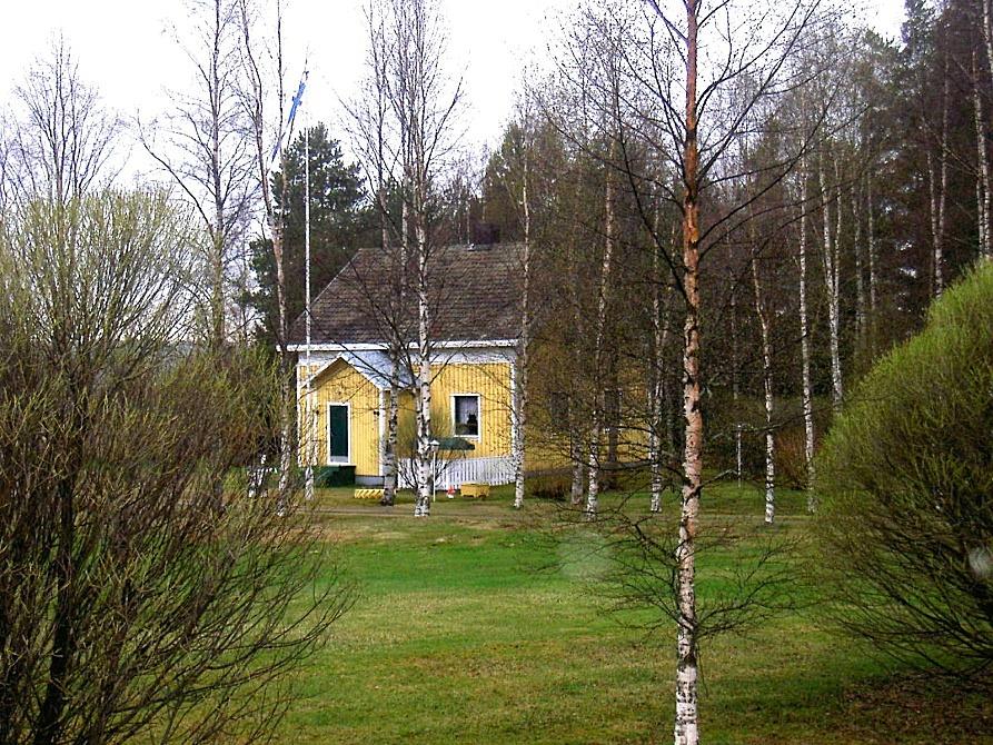 Den här gården byggde Ingeborg och Gunnar Lindblad i början på 1940-talet.