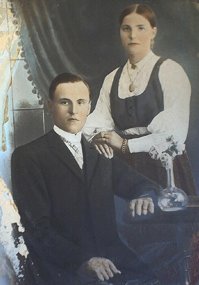 Josef och Hulda Granlund.