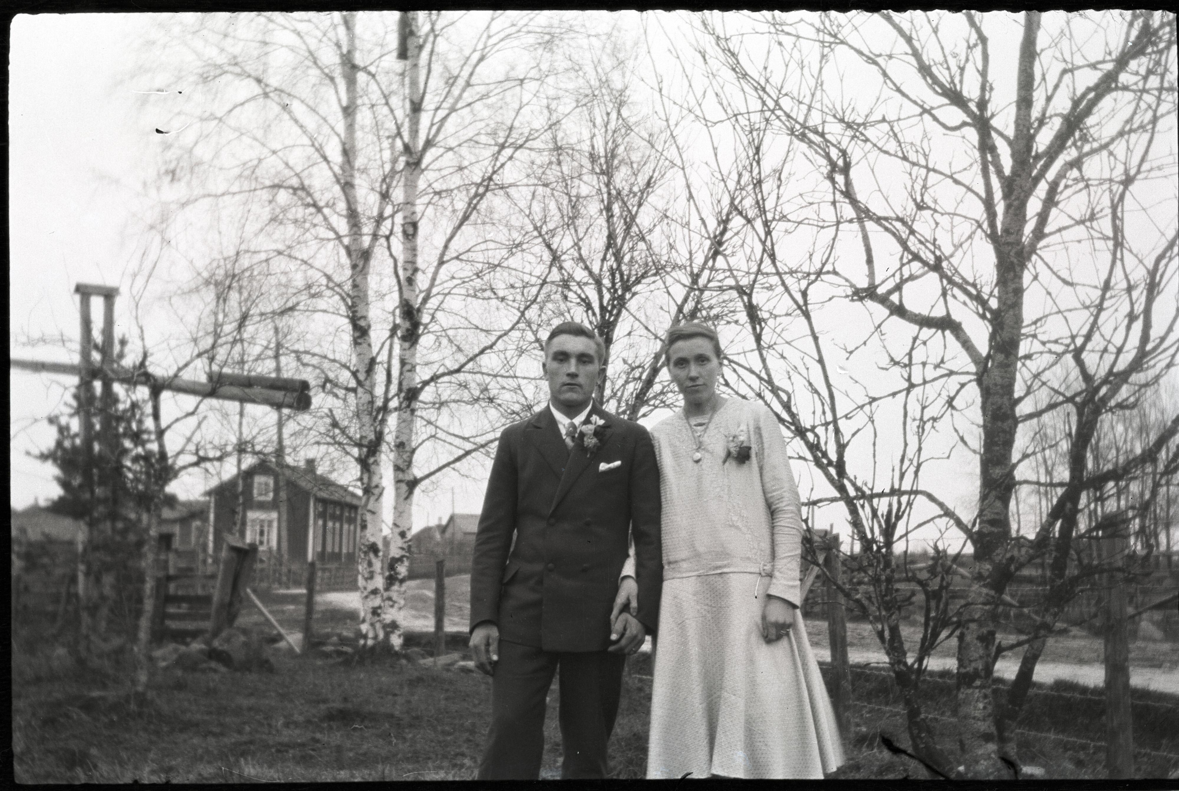 År 1929 gifte sig Valter Granér (1904-1937) från Härkmeri med Maria Ekman (1906-1985) från Lappfjärd i brudens hem hos Ekmans.