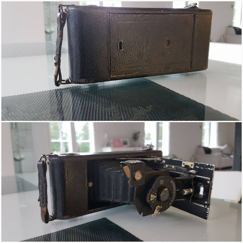 Med denna Orionwerk kamera från Hannover i Tyskland tog Selim Björses de flesta bilderna och denna skaffade han redan år 1927.