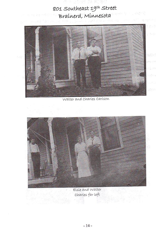 Sid 14, bilder från Brainerd i Minnesota