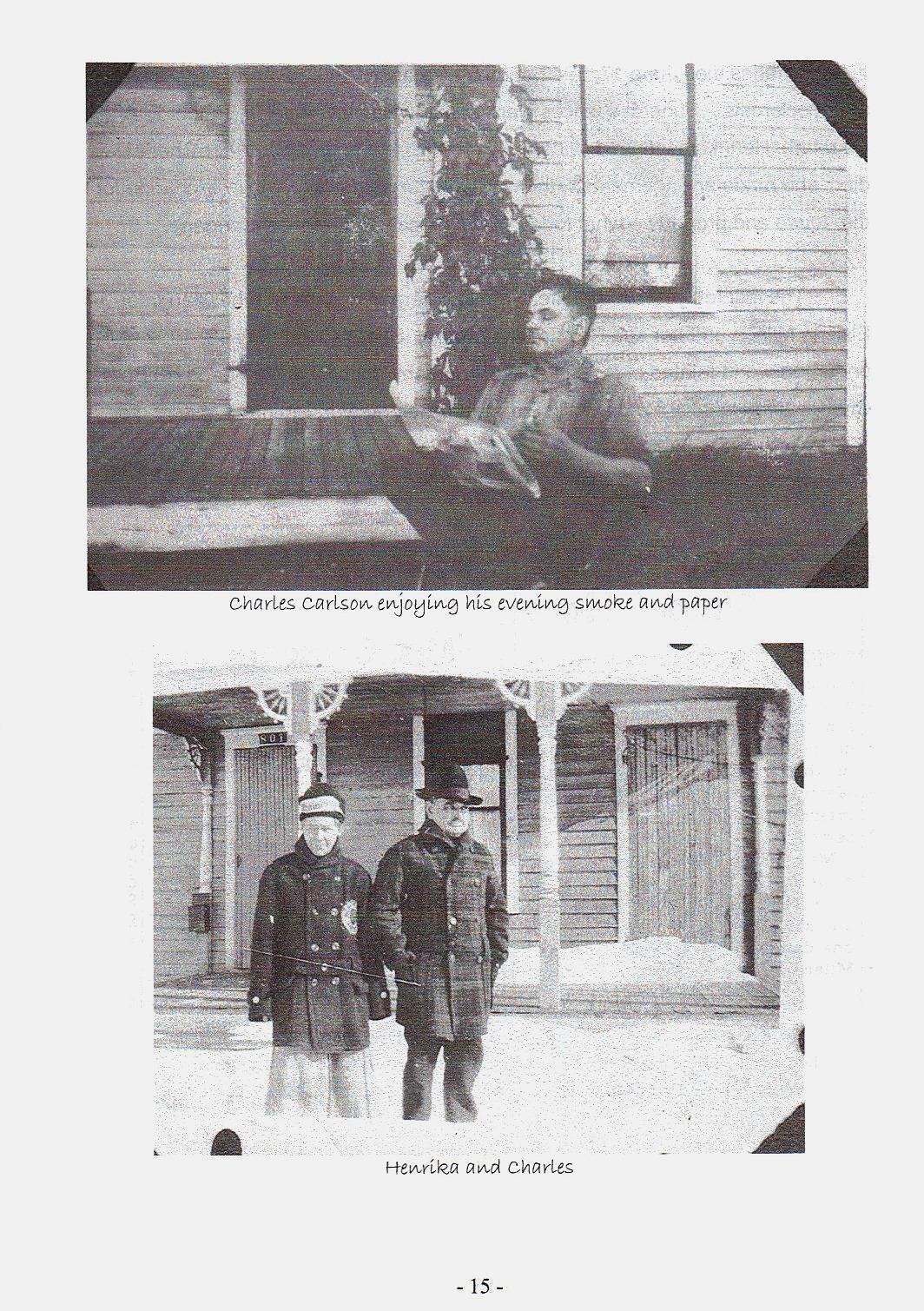 Sid 15, bilder på Charles och Henrika