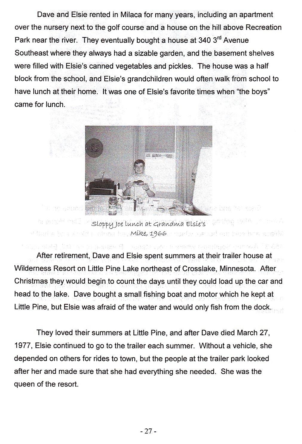 Sid 27, Elsie och Dave