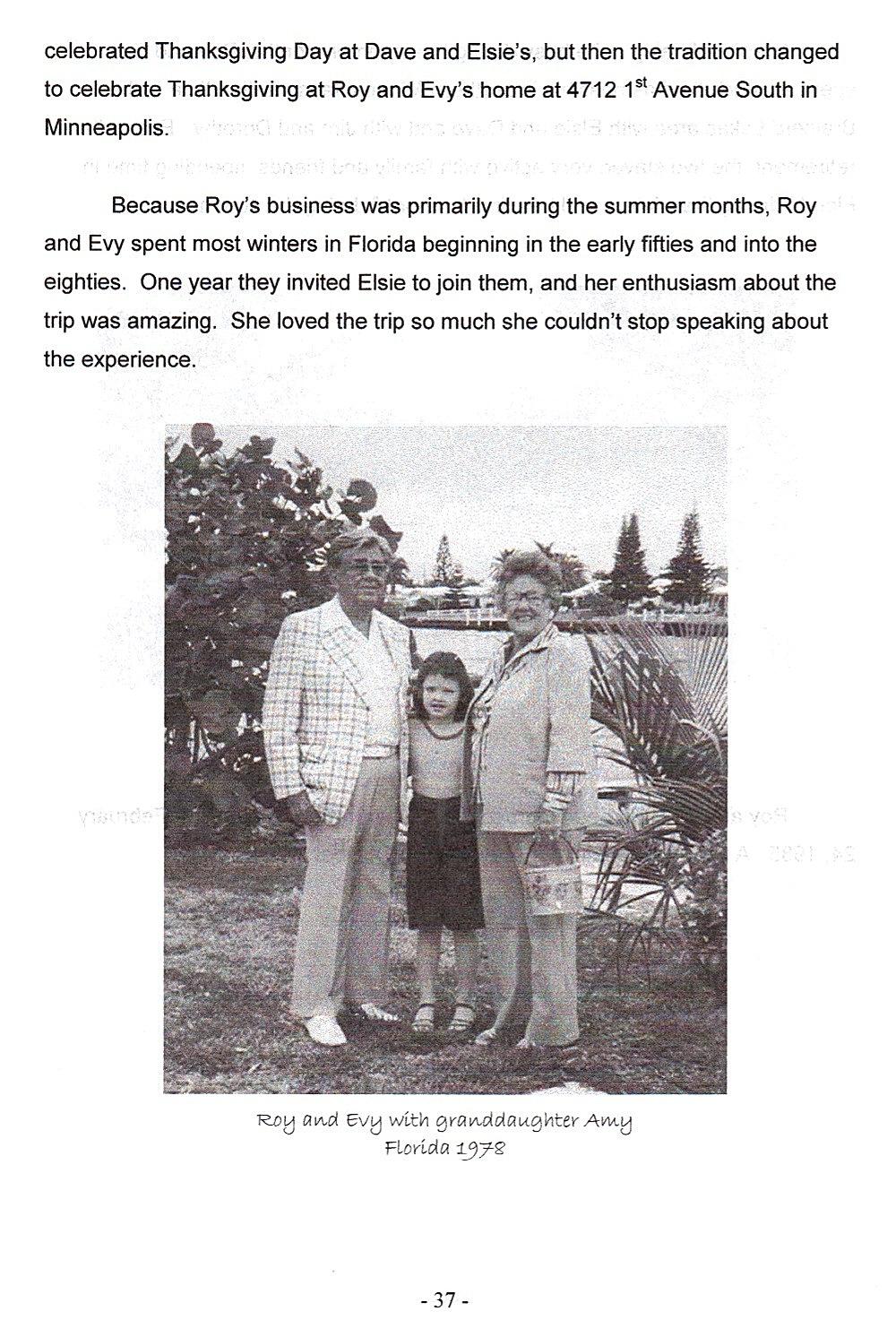 Sid 37, Roy och Evy i Florida