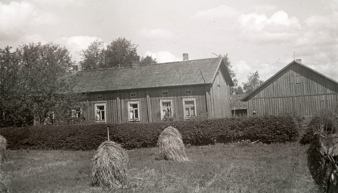 Läraren Selim Björses barndomshem.