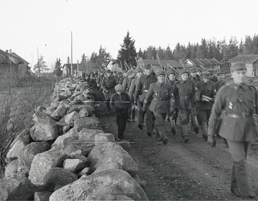 Skyddskårister från Lappfjärd.
