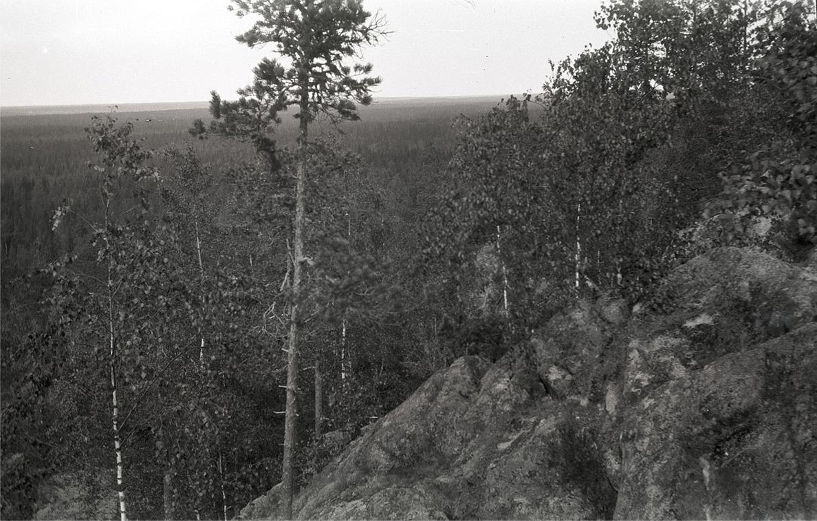 Utsikten från Bötombergen nedanför skidstugan är det inget fel på, då man ser Lappfjärd, Kristinestad och Kaskö på en och samma gång.