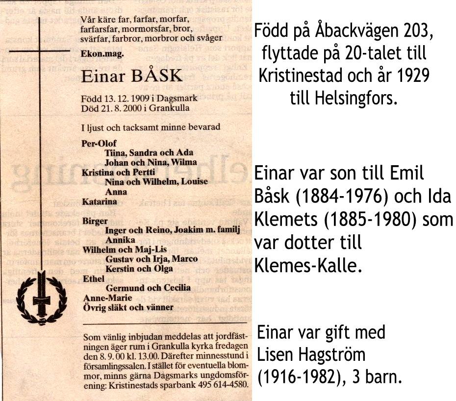 Båsk Einar
