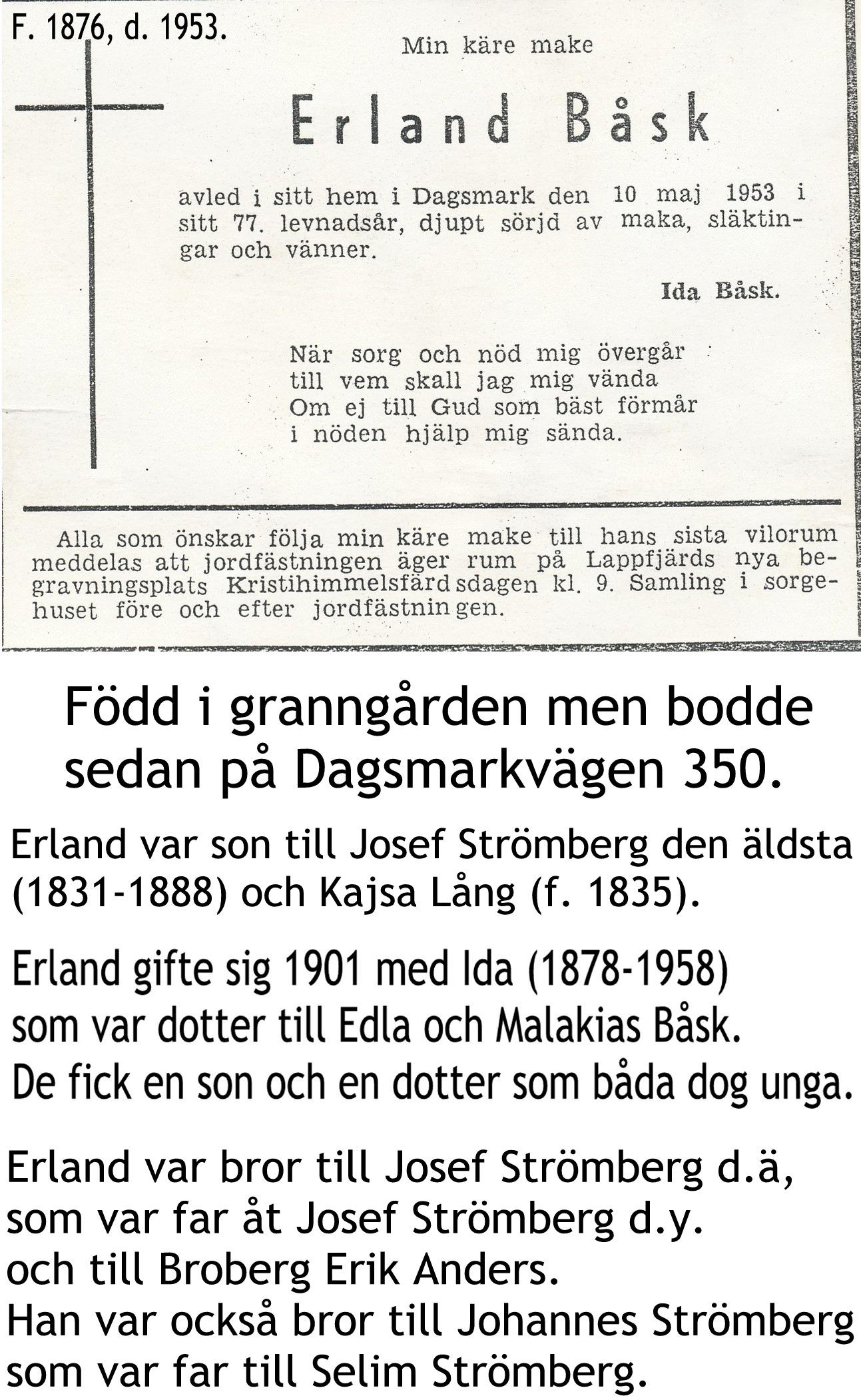 Båsk Erland