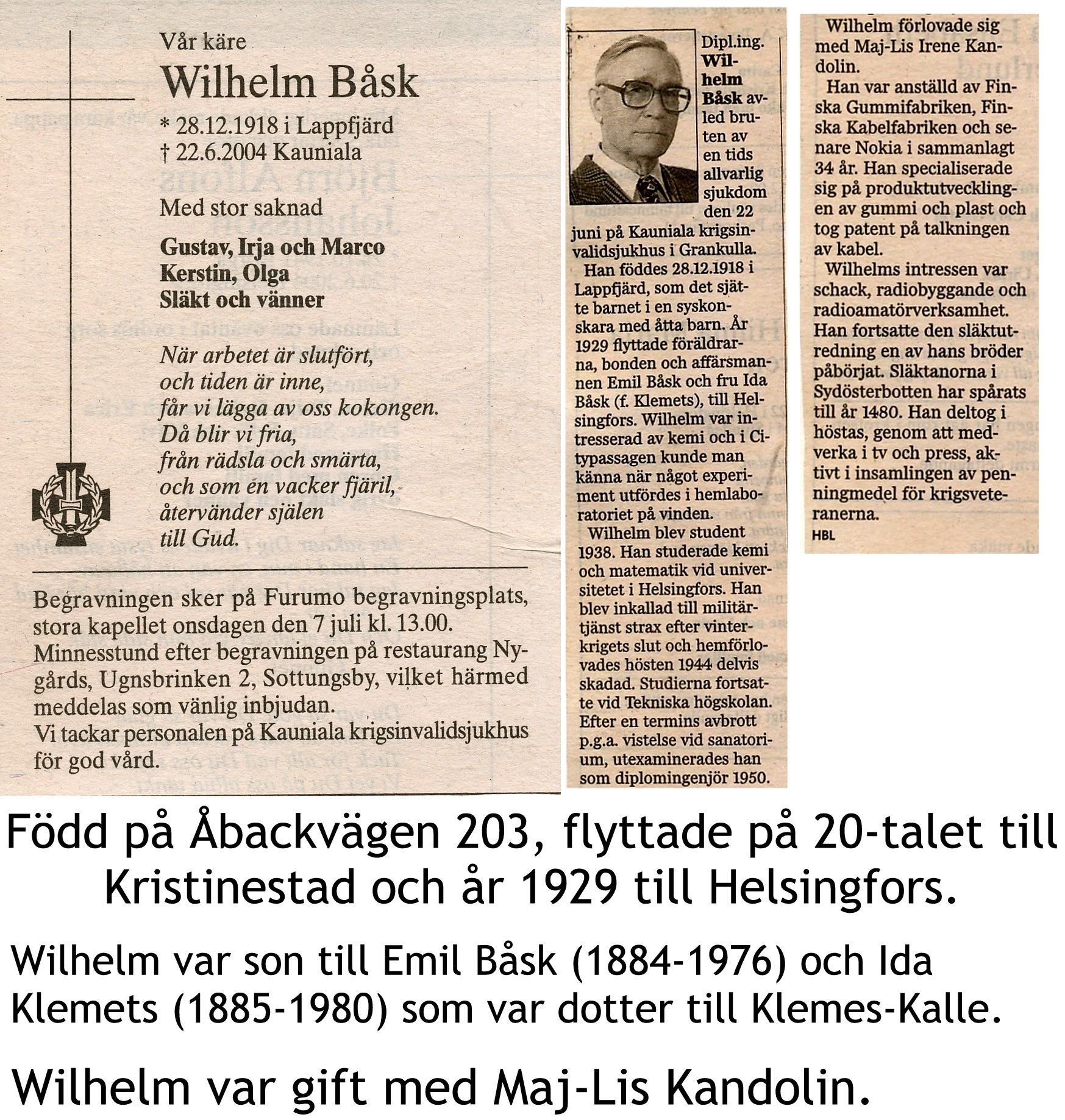 Båsk Wilhelm